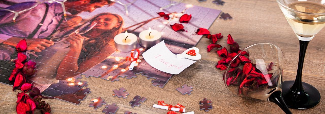 puzzleYOU romantiska presenttips för alla hjärtans dag