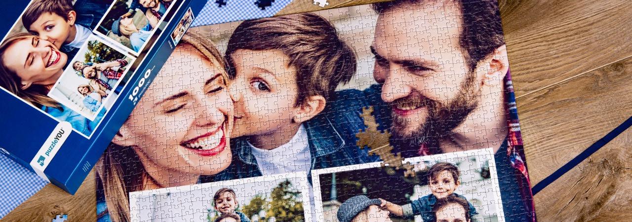 fotopusselcollage familj