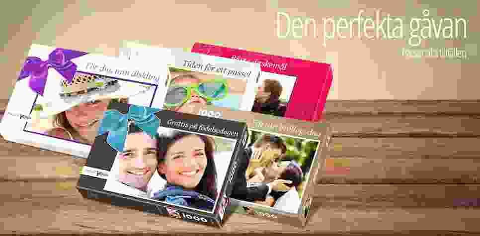 Den perfekta lådan till ditt personliga fotopussel.