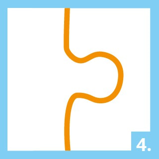 Instruktioner pusselkonserverare steg 4