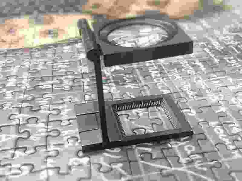 Fotopussel med digitaltryckmetod