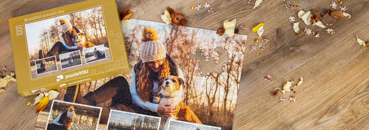 Förvara dina favoritstunder på ett fotopussel
