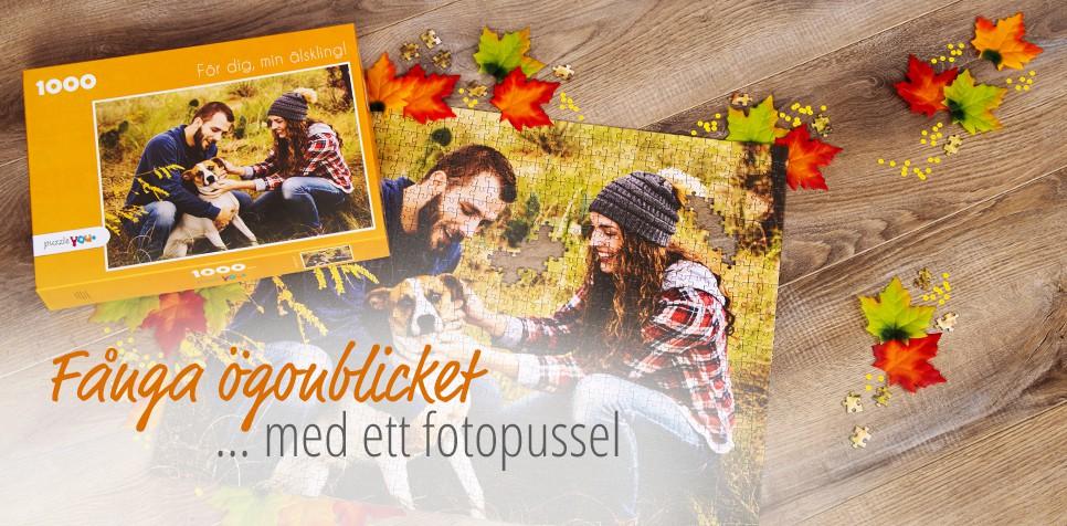 Fotopussel: enkelt att beställa på puzzleyou.se