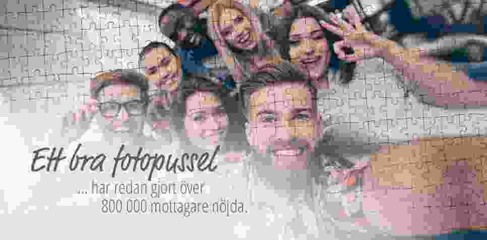 Fotopussel: mycket nöjda mottagare