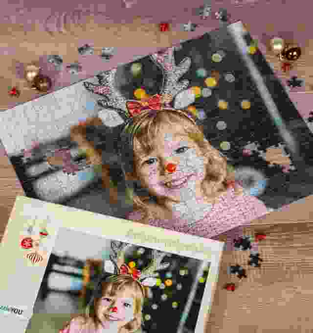 Vårt fotopussel - Den lilla renen Nina